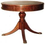 El Palisandro, la Mesa en el periodo de Regencia