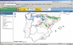 Colaboracion Tecnica SIG-FOREST Visor SIG de especies forestales