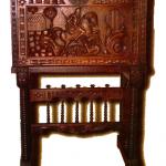 Arquimesa de Aragón con pie de puente.